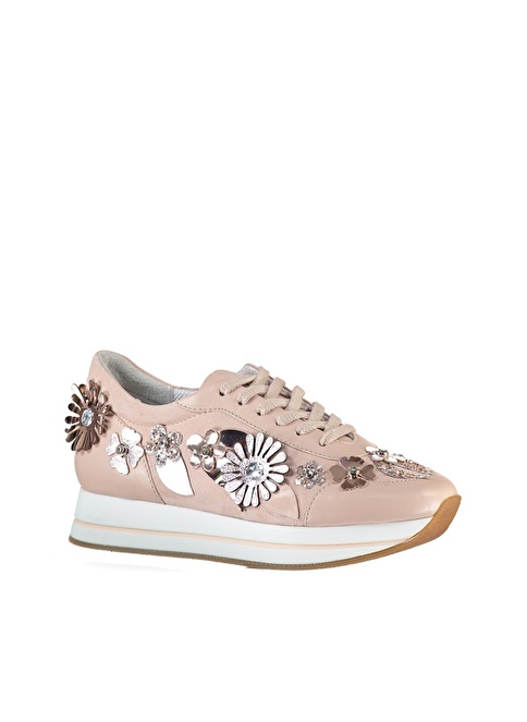 Elle Sneakers Ayakkabı Pudra
